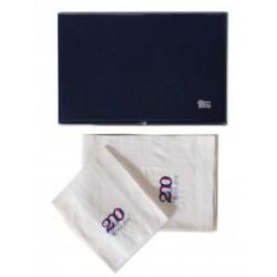 Asciugamano Lino ricamato ANC (002321202)