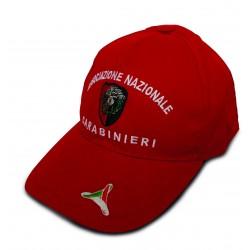 Cappello Rosso con Visiera ANC