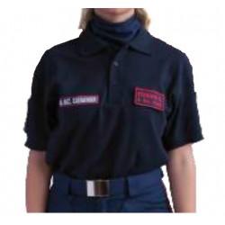 Polo Protezione Civile/Volontariato Manica Lunga Cotone ANC