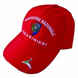 Cappello Rosso Tessuto Tecnico ANC