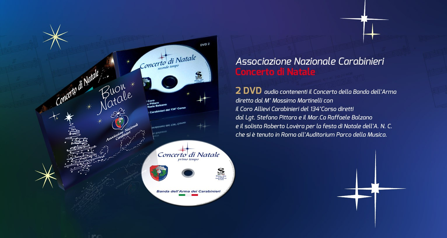 DVD Concerto di Natale