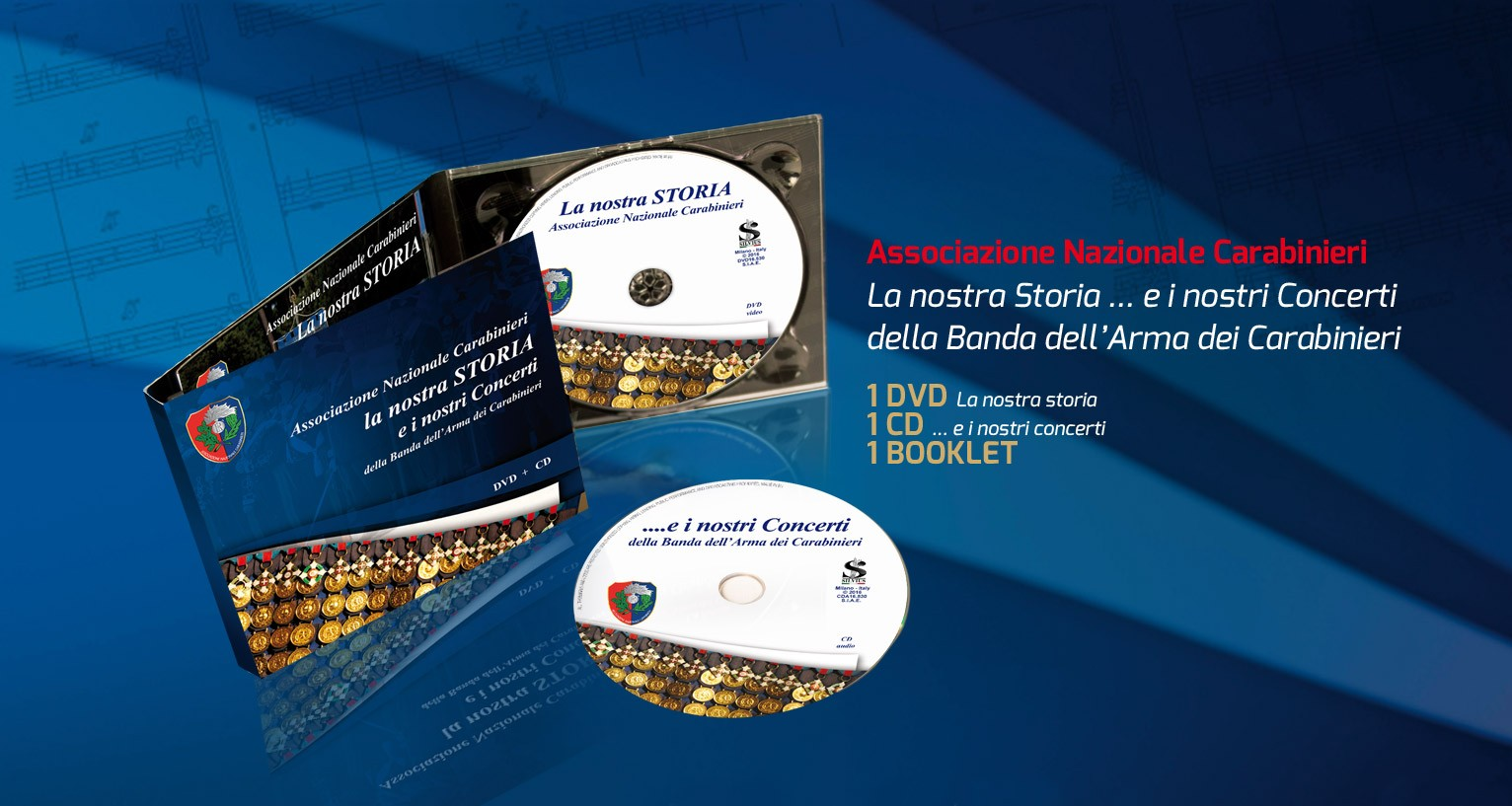 Cofanetto CD + DVD La Nostra Storia